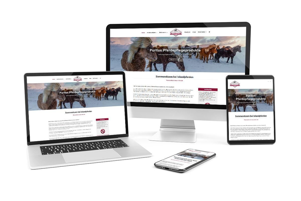 Puritus Online-Shop